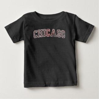かわいいヴィンテージシカゴ ベビーTシャツ