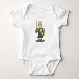 かわいい中世騎士 ベビーボディスーツ