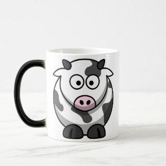 かわいい乳白色 モーフィングマグカップ