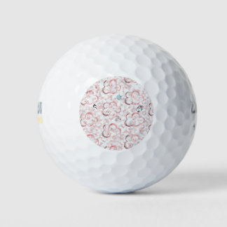 かわいい冬X-masパターンC ゴルフボール