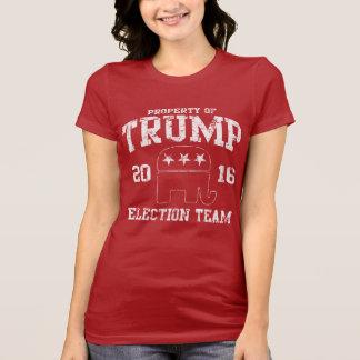 かわいい切札2016の共和党員の選挙のチーム Tシャツ
