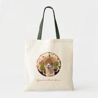 かわいい動物のアルパカのトートバック トートバッグ