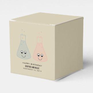 かわいい化学誕生日の好意箱 フェイバーボックス