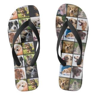 かわいい及びおもしろい犬のサンダル ビーチサンダル