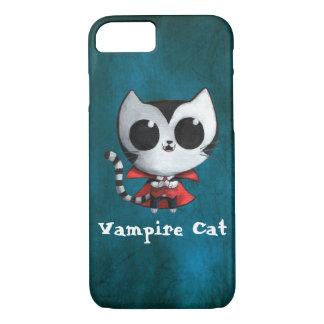 かわいい吸血鬼猫 iPhone 8/7ケース