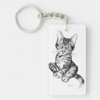 かわいい外国の子ネコ キーホルダー
