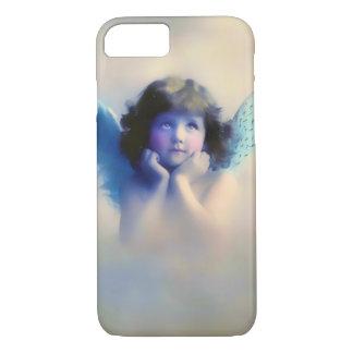 かわいい天使のヴィンテージ iPhone 7ケース