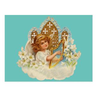 かわいい天使の郵便はがき ポストカード