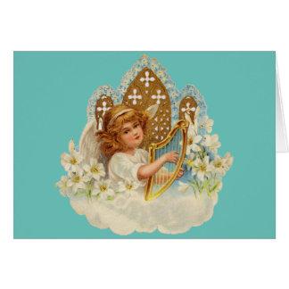 かわいい天使-挨拶状 カード