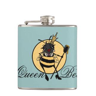 かわいい女王バチのビニールの包まれたなフラスコ フラスク