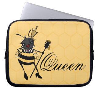 かわいい女王バチのラップトップスリーブ ラップトップスリーブ