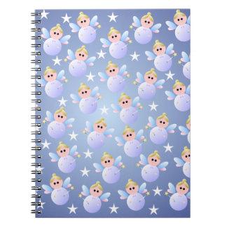 かわいい妖精の螺線形ノート ノートブック