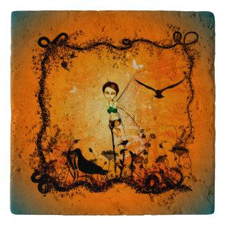 かわいい妖精 トリベット