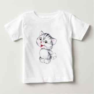 かわいい子ネコ ベビーTシャツ