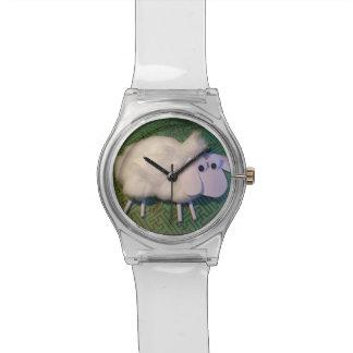 かわいい子ヒツジの中国のな占星術のヒツジの子供の腕時計 腕時計