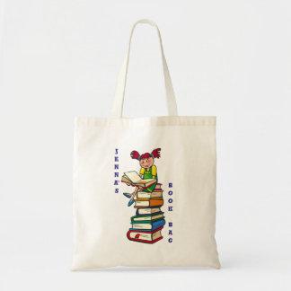かわいい子供および読者の戦闘状況表示板またはブックバッグ トートバッグ