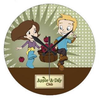 かわいい子供- Apple -日クラブ! 時計