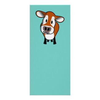 かわいい子牛のしおり ラックカード