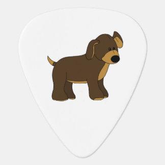 かわいい子犬のギターピック ギターピック