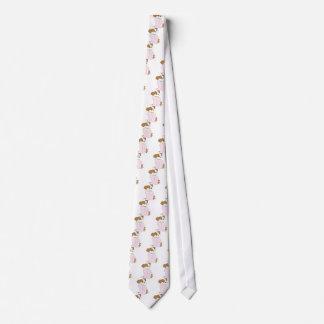 かわいい子犬のパジャマ ネクタイ