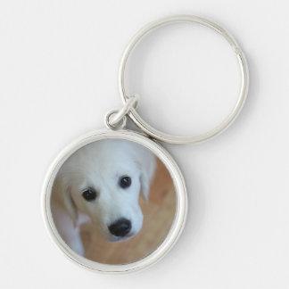 かわいい子犬-あなた自身のギフトを作成して下さい キーホルダー