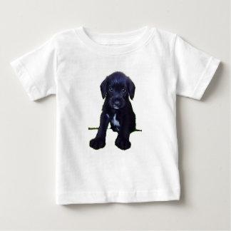 かわいい子犬 ベビーTシャツ