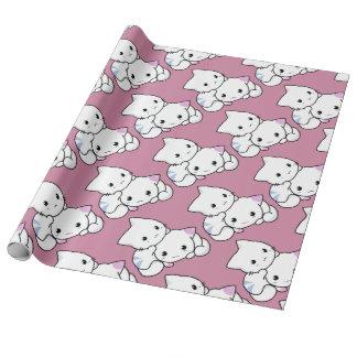 かわいい子猫の包装紙 ラッピングペーパー