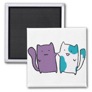 かわいい子猫の磁石 マグネット