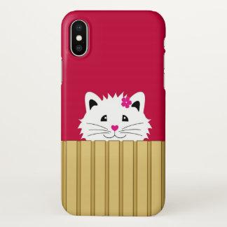 かわいい子猫のiPhone X iPhone X ケース