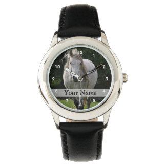 かわいい子馬の写真 腕時計