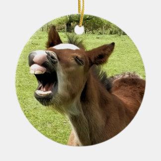 かわいい子馬 セラミックオーナメント