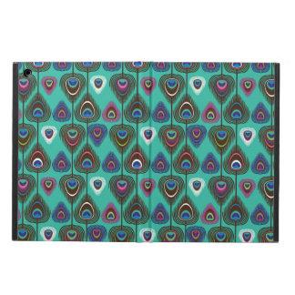 かわいい孔雀の羽パターン iPad AIRケース