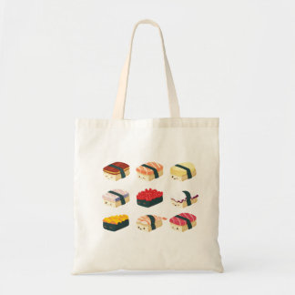 かわいい寿司 トートバッグ