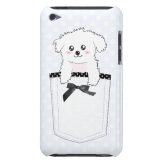 かわいい小型の小犬 Case-Mate iPod TOUCH ケース