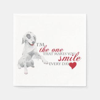 かわいい小犬 スタンダードカクテルナプキン
