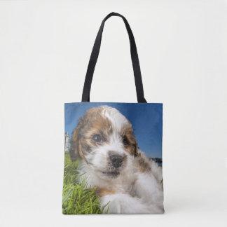 かわいい小犬(Shitzu) トートバッグ
