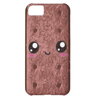 かわいい幸せなチョコレートサンドイッチクリームのクッキー iPhone5Cケース