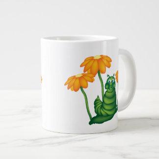 かわいい幼虫のジャンボマグ ジャンボコーヒーマグカップ