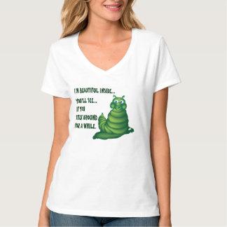 かわいい幼虫のTシャツ Tシャツ