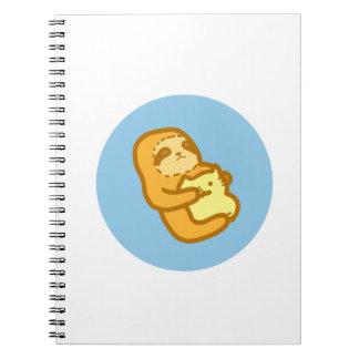 かわいい怠惰のノート ノートブック