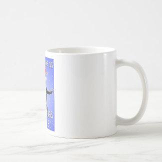 かわいい怠惰はクリスマスの抱擁がほしいと思います コーヒーマグカップ