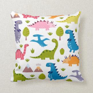 かわいい恐竜の枕 クッション