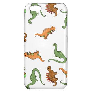 かわいい恐竜パターン iPhone5C
