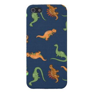 かわいい恐竜パターン iPhone 5 カバー