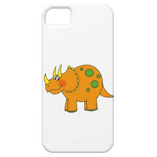 かわいい恐竜-トリケラトプス iPhone SE/5/5s ケース