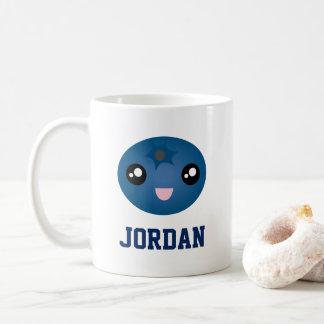かわいい愛果実多くの漫画の青の果実 コーヒーマグカップ