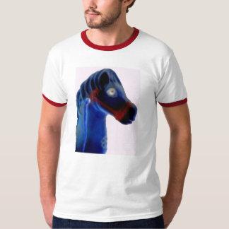 かわいい揺り木馬 Tシャツ