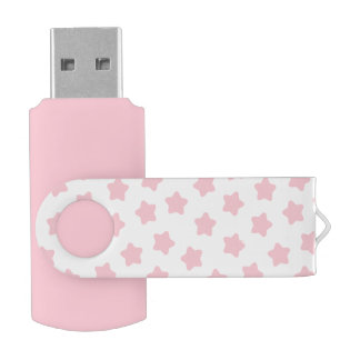 かわいい明るいピンクの星USBのフラッシュドライブ USB メモリ