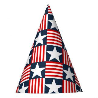 かわいい星条旗 パーティーハット