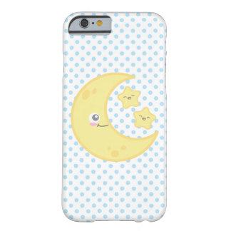 かわいい月および星のiPhoneの場合 Barely There iPhone 6 ケース